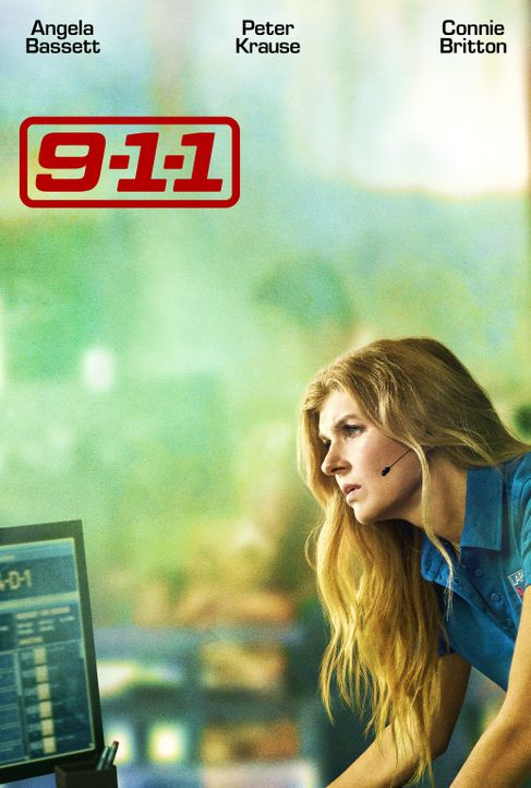 (1. Staffel) - 9-1-1- Artwork - Abby Clark (Connie Britton) - Bildquelle: 2018 Fox and its related entities.  All rights reserved.