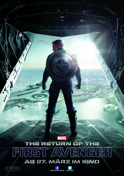 The-Return-of-the-First-Avenger-Plakat1-Marvel - Bildquelle: Marvel