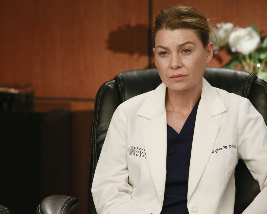 Zusammen mit Maggie und Owen muss Meredith (Ellen Pompeo) über die Konsequenzen von Bens Vorgehen entscheiden ... - Bildquelle: Mitch Haaseth ABC Studios