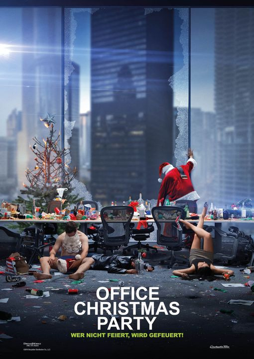 Office Christmas Party - Artwork - Bildquelle: 2016 Constantin Film Verleih GmbH