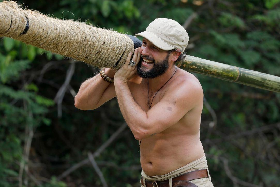 Global Gladiators Manuel Cortez (2) - Bildquelle: ProSieben/Richard Hübner