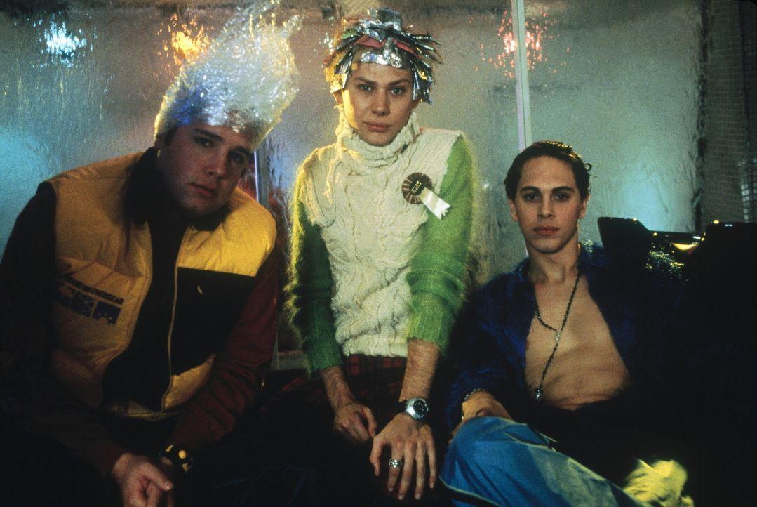 Das Triumvirat: Adam (Zak Orth, l.), Chris (Tom Sadoski, r.) und Noah (Jim Simpson, M.) ... - Bildquelle: Columbia TriStar