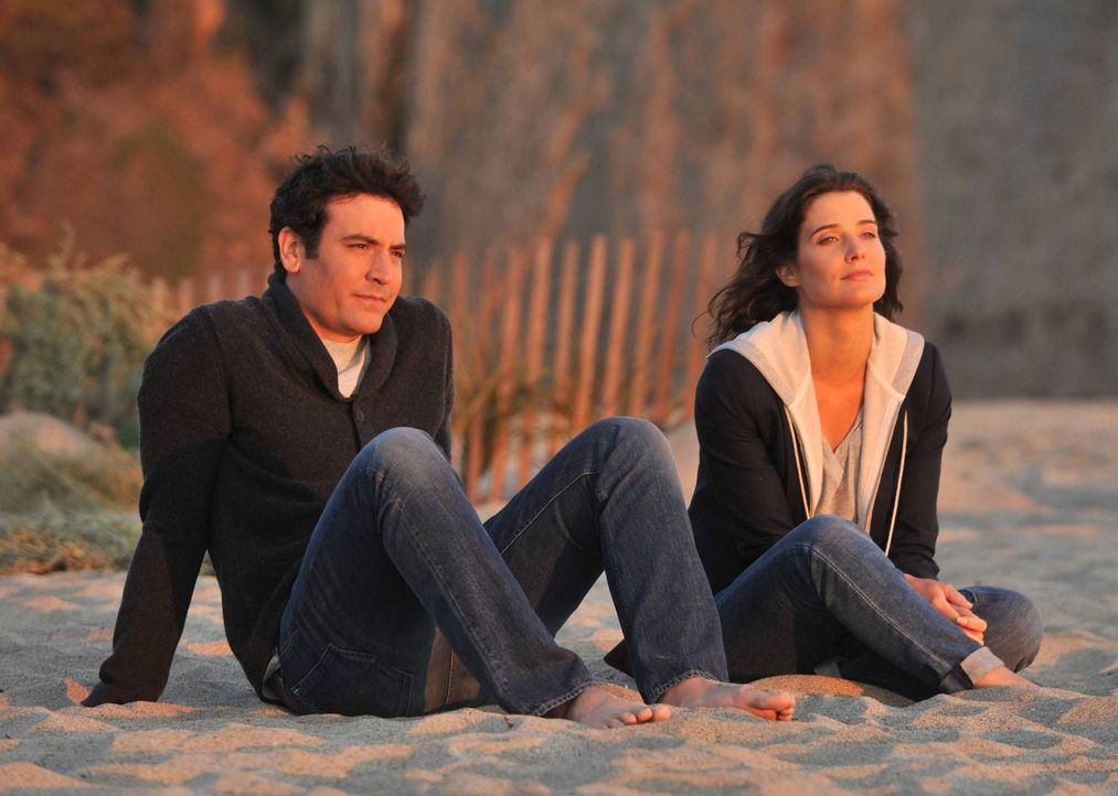 Emotionale Momente entstehen bei Ted (Josh Radnor, l.) und Robin (Cobie Smulders, r.), als sie sich über ihre vergangenen Beziehungen unterhalten ... - Bildquelle: 2014 Twentieth Century Fox Film Corporation. All rights reserved.