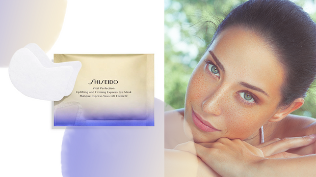 Die Shiseido Augenpads
