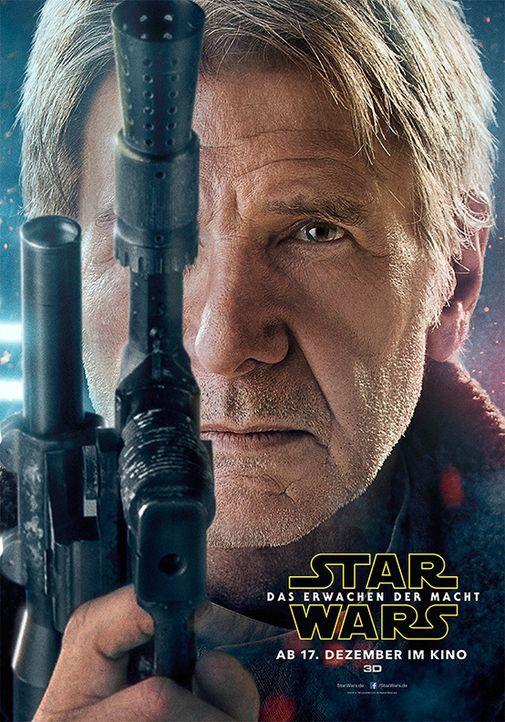 Star-Wars-Das-Erwachen-der-Macht-Poster-Han-Solo-Walt-Disney - Bildquelle: Walt Disney Studios Motion Pictures
