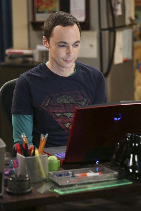 Sinnt auf Rache: Sheldon (Jim Parsons) ... - Bildquelle: Warner Bros. Television