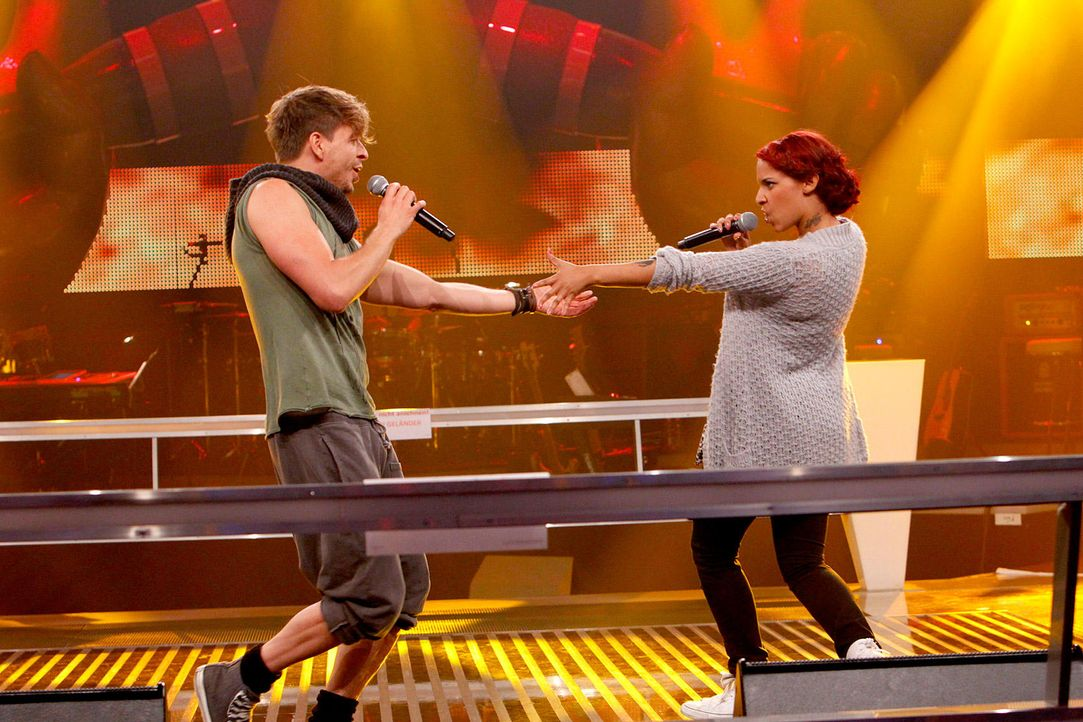 battle-luca-vs-jenna-11-the-voice-of-germany-huebnerjpg 1700 x 1133 - Bildquelle: SAT1/ProSieben/Richard Hübner
