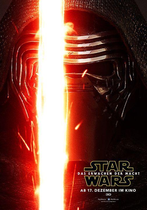 Star-Wars-Das-Erwachen-der-Macht-Poster-Kylo-Ren-Walt-Disney - Bildquelle: Walt Disney Studios Motion Pictures