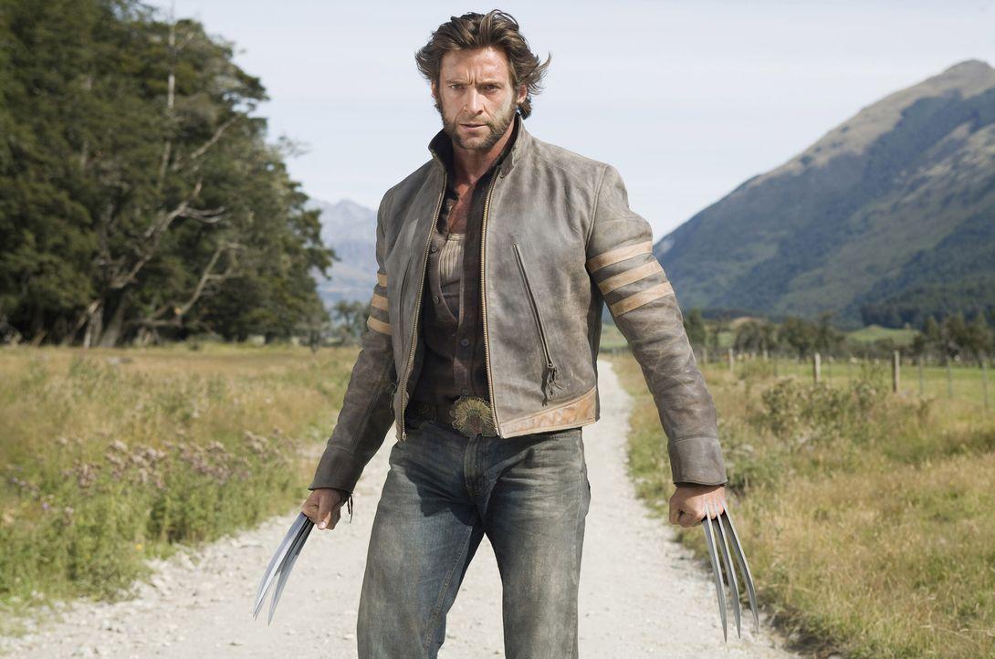 Wolverine (Hugh Jackman) - Bildquelle: James Fisher 2009 Twentieth Century Fox Film Corporation. All rights reserved. X-Men Character Likenesses TM &   2009 Marvel Characters, Inc. All Rights Reserved / James Fisher