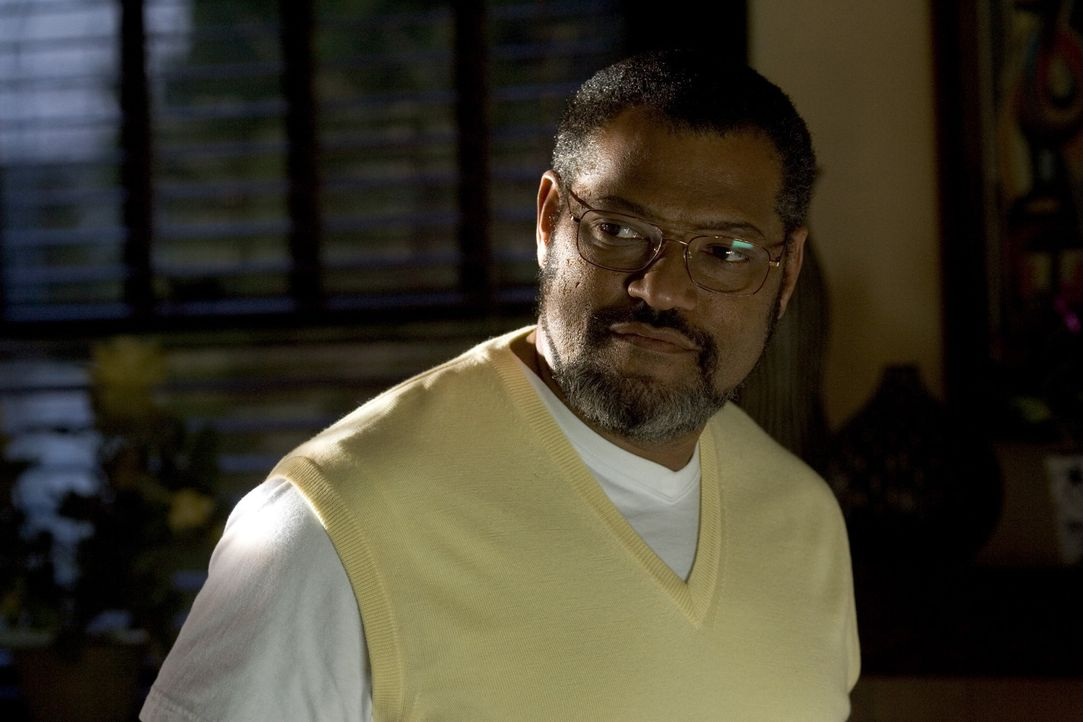 Dr. Larabee (Laurence Fishburne) ist zwar recht streng, aber sein Herz schlägt schon bald ganz und gar für Akeelah und ihr Sprachtalent ... - Bildquelle: Copyright   2006 Lions Gate Films Inc. and 2929 Productions LLC. All Rights Reserved.