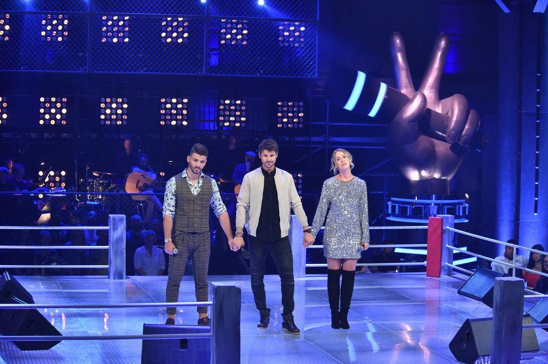S1P7_Voice_SD10_Vorbericht_Alessandro; Thore Schölermann;Judith;  - Bildquelle: SAT.1/ProSieben/André Kowalski