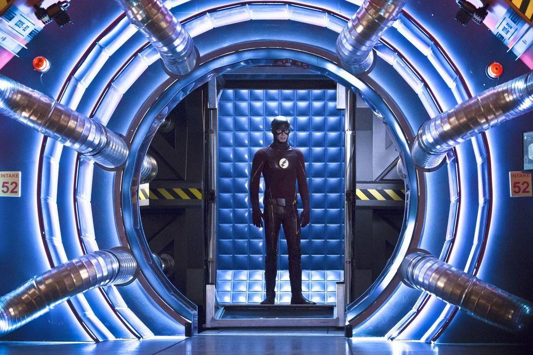 Nachdem Barry alias The Flash (Grant Gustin) erkannt hat, wer Zoom wirklich ist, fasst er einen Plan, der nicht ganz so läuft wie erhofft ... - Bildquelle: Warner Bros. Entertainment, Inc.
