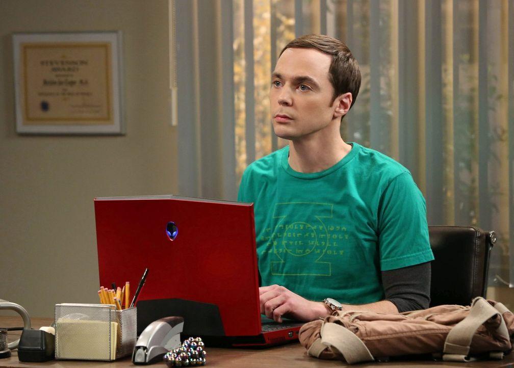 Treibt seine Freunde fast in den Wahnsinn: Sheldon (Jim Parsons) ... - Bildquelle: Warner Brothers