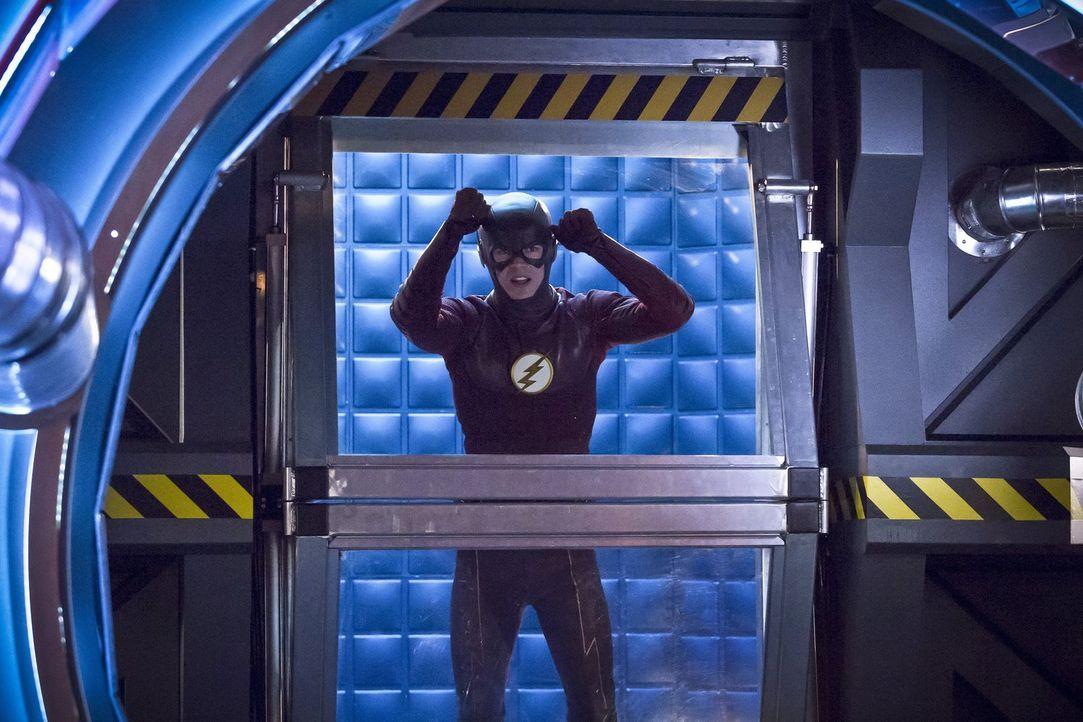 Als ein neues Metawesen beginnt, die Menschen auszurauben und das in unfassbarer Schnelligkeit, halten viele Barry alias The Flash (Grant Gustin) fü... - Bildquelle: Warner Bros. Entertainment, Inc.