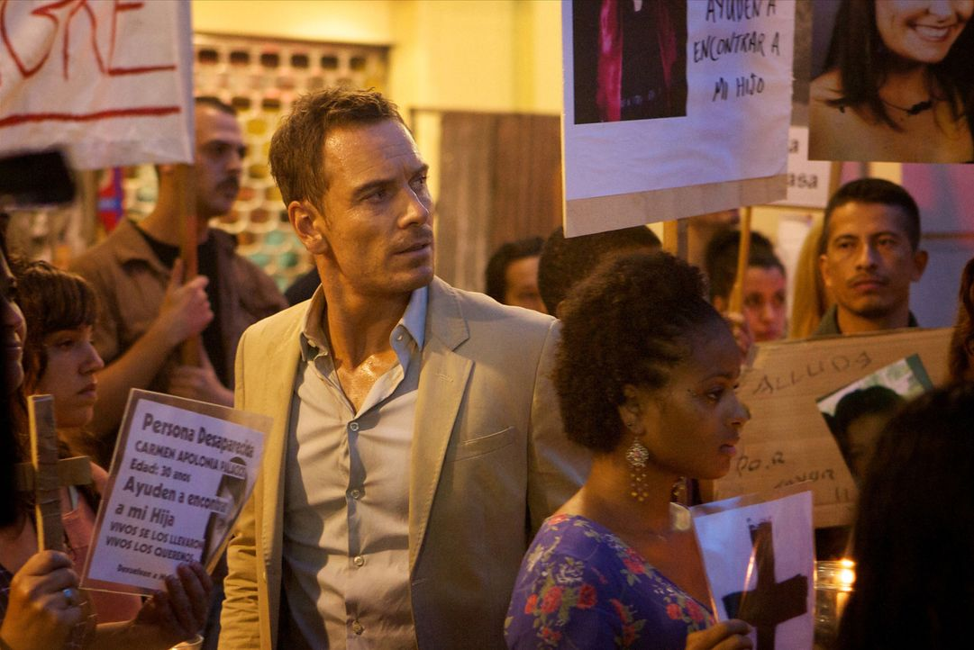 Als sich der Counselor (Michael Fassbender, vorne) auf einen kriminellen Deal einlässt, der ihm insgesamt rund 20 Millionen Dollar einbringen soll,... - Bildquelle: TM and   2013 Twentieth Century Fox Film Corporation.  All Rights Reserved.