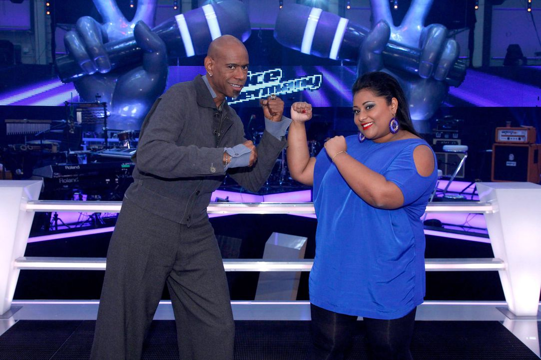 battle-michelle-vs-dennis-04-the-voice-of-germany-richard-huebnerjpg 1700 x 1133 - Bildquelle: SAT1/ProSieben/Richard Hübner