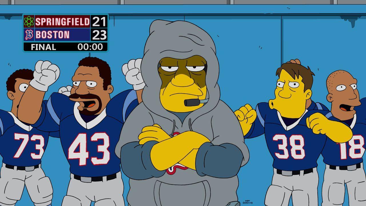 Die Niederlagen, die das Springfield-Team gegenüber den Boston Americans erfahren müssen, sitzen tief. Deswegen hat Homer keinerlei Verständnis, als... - Bildquelle: 2016-2017 Fox and its related entities. All rights reserved.