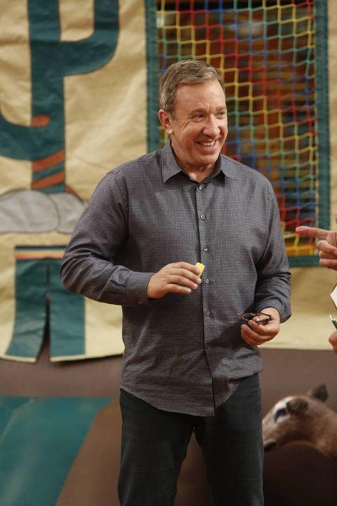 Hat Mike (Tim Allen) etwas damit zu tun, dass Boyd auf einem Kindergeburtstag die anderen Kinder zum Kriegspielen anstiftet hat? - Bildquelle: 2014-2015 American Broadcasting Companies.  All rights reserved.