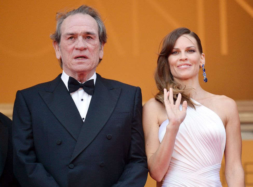 Cannes-Filmfestival-Tommy-Lee-Jones-Hilary-Swank-140518-1-AFP - Bildquelle: AFP