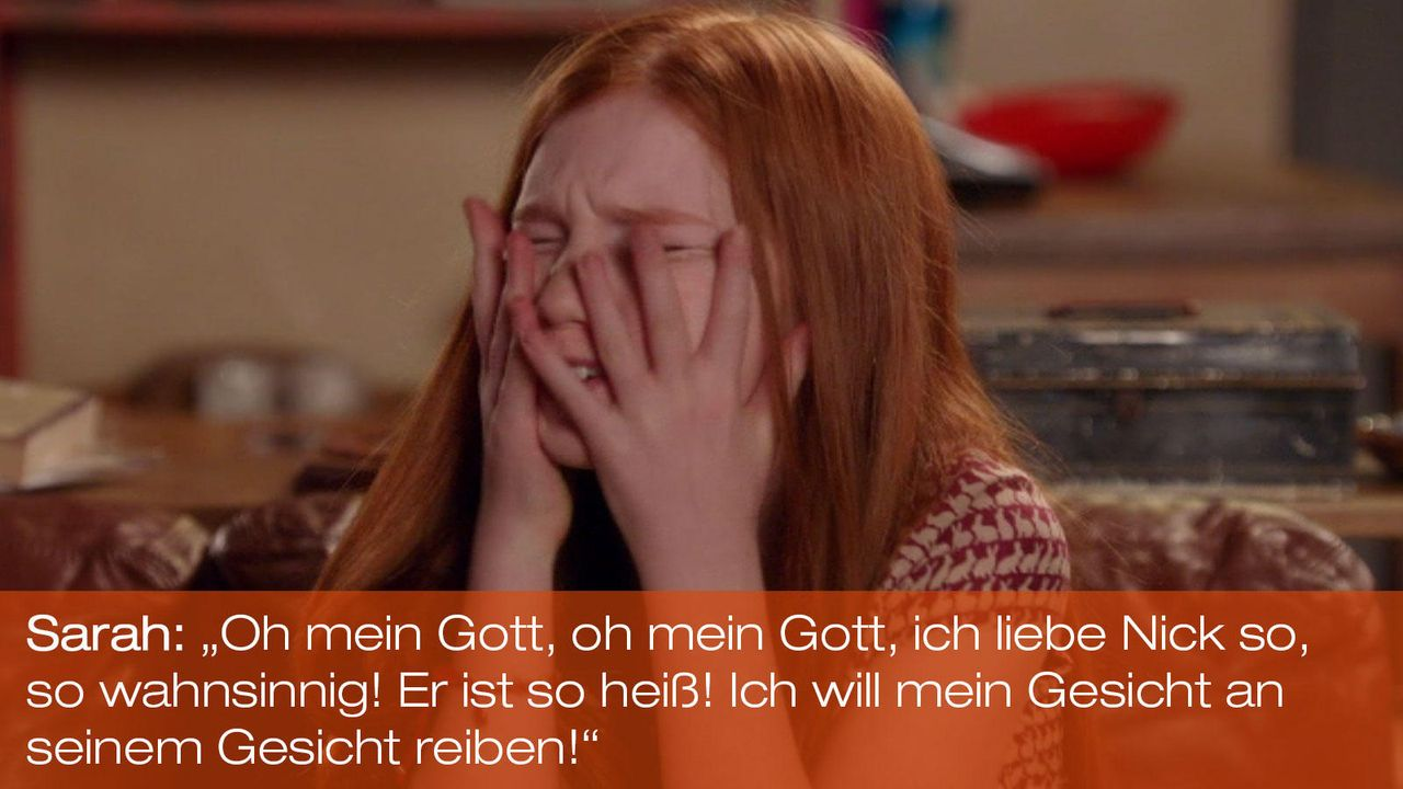 New Girl - Zitate - Staffel 1 Folge 21 - Sarah (Annalise Basso) - Bildquelle: 20th Century Fox