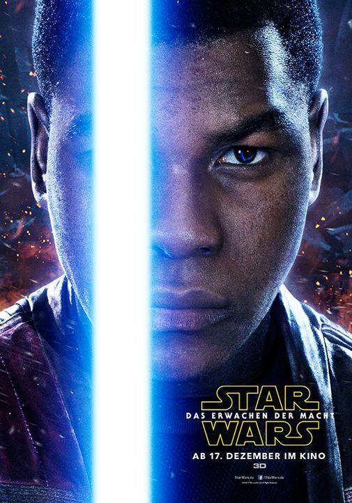 Star-Wars-Das-Erwachen-der-Macht-Poster-Finn-Walt-Disney - Bildquelle: Walt Disney Studios Motion Pictures