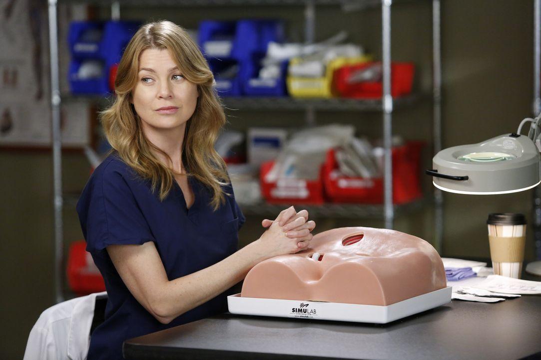 Während Derek und April rund um die Uhr an der Rettung des Krankenhaus arbeiten, hat Meredith (Ellen Pompeo) Angst ihr Kind zu verlieren ... - Bildquelle: ABC Studios