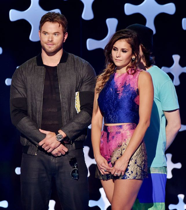 Teen-Choice-Awards-Nina-Dobrev-Kellan-Lutz-140810-getty-AFP - Bildquelle: getty-AFP