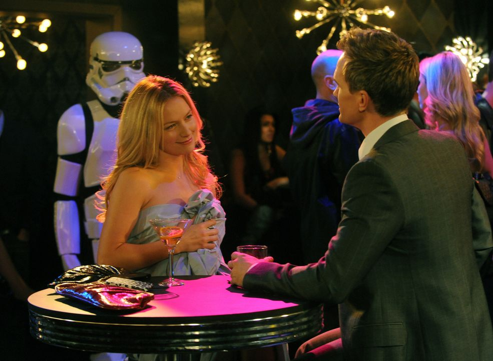 Wird es für Barney (Neil Patrick Harris, r.) und Quinn (Becki Newton, l.) eine gemeinsame Zukunft geben? - Bildquelle: 20th Century Fox International Television