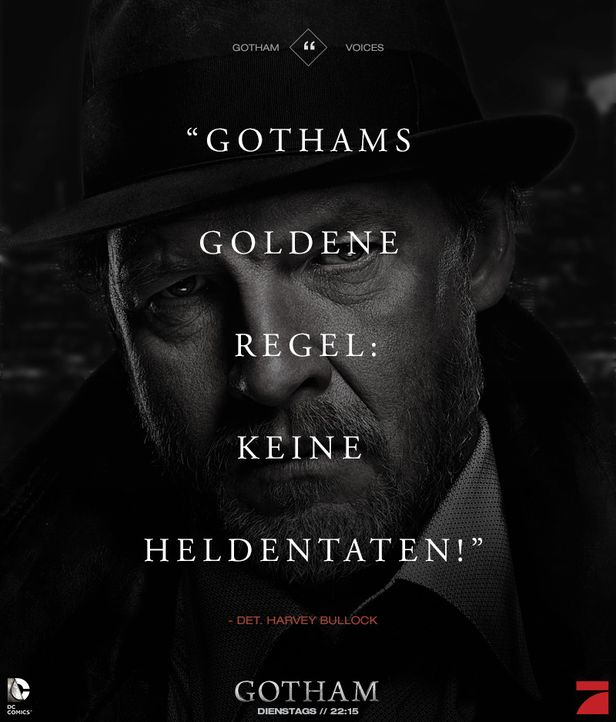 Gotham_Voices_Stimmen_der_Stadt_Zitate_Sprueche_Serie (21) - Bildquelle: DC Comics / Warner Bros. Entertainment, Inc.