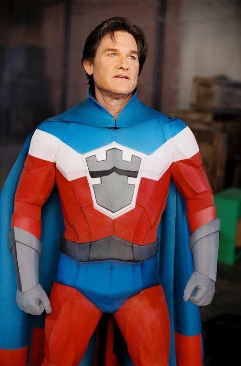 The Commander (Kurt Russell) ist der berühmteste Superheld der Welt, und deshalb sehr enttäuscht, als sich sein Sohn als ein Junge ohne Superkräf... - Bildquelle: Walt Disney Pictures. All rights reserved