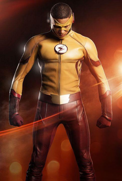 (3. Staffel) - Wie wird sich Wally als Kid Flash (Keiynan Lonsdale) schlagen? - Bildquelle: 2016 Warner Bros.