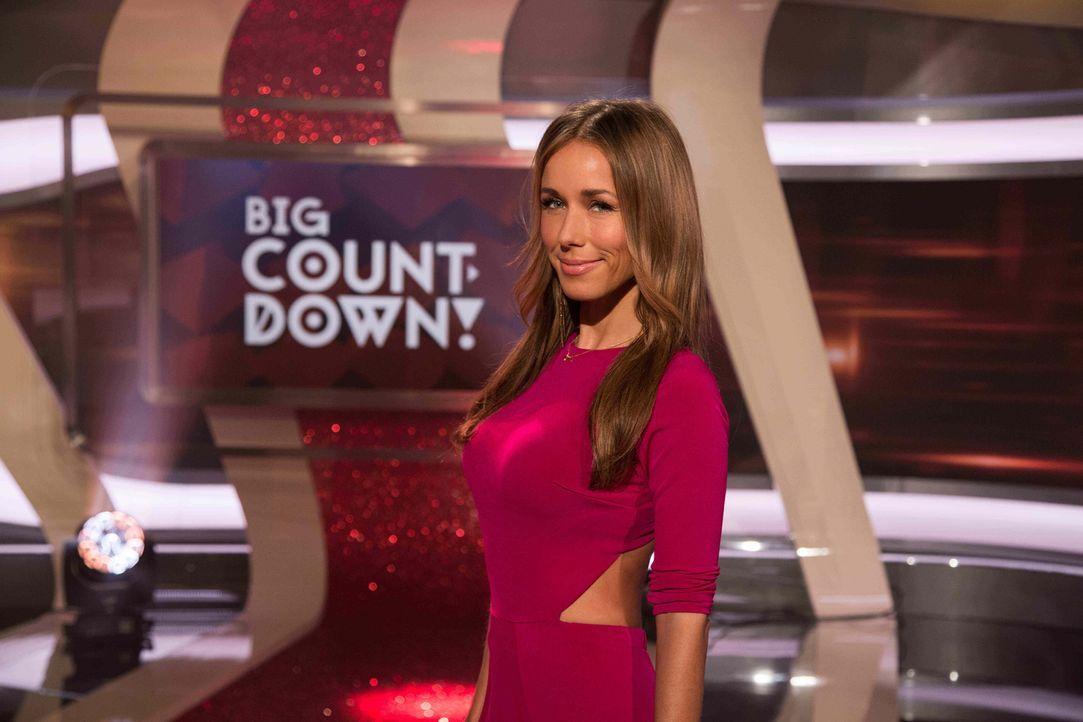 """Moderiert die Rankingshow """"Big Countdown!"""": Annemarie Carpendale ... - Bildquelle: Benedikt Müller ProSieben"""