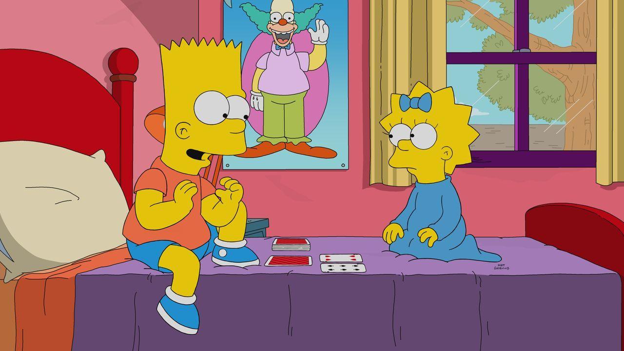Bart (l.); Maggie (r.) - Bildquelle: 2019-2020 Twentieth Century Fox Film Corporation.  All rights reserved.