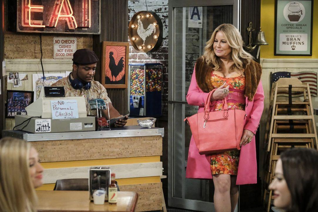 Oleg ist entsetzt, als Sophie (Jennifer Cooldige, r.) von ihm verlangt, dass er sich an der Hausarbeit beteiligt ... - Bildquelle: Warner Bros. Television