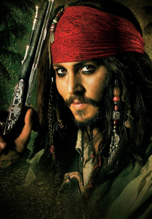 Gerade erst ist Captain Jack Sparrow (Johnny Depp) dem Fluch der Black Pearl entkommen, da gerät er auch schon in das nächste lebensbedrohliche Aben... - Bildquelle: Peter Mountain Disney Enterprises, Inc.  All rights reserved
