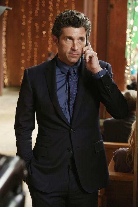 Dr. Derek Shepherd (Patrick Dempsey) erhält einen Anruf, der sein Leben verändern wird ... - Bildquelle: Ron Tom 2013 American Broadcasting Companies, Inc. All rights reserved.