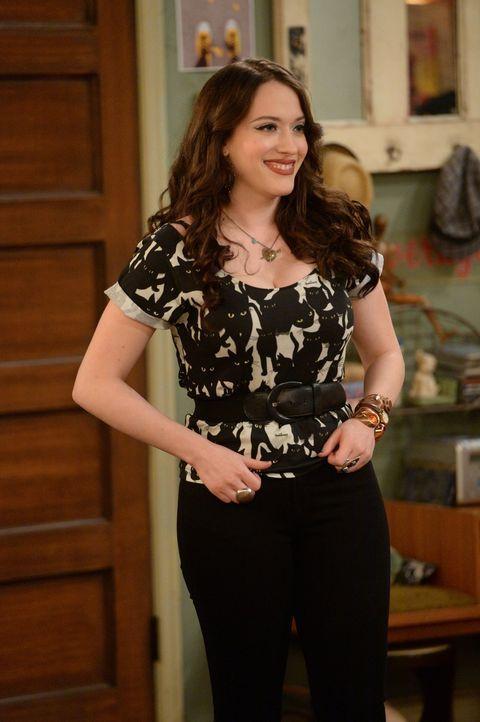 Was hat sich Max (Kat Dennings) nur dabei gedacht? Jahrelang hat sie Caroline zu viel Miete abgeknöpft ... - Bildquelle: Warner Brothers