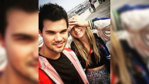Star Wars Star Carrie Fisher Beerdigt Taylor Lautner An Billie