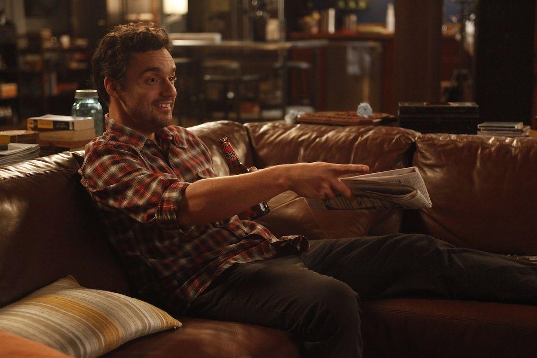 Cece, die vorrübergehend in der WG eingezogen ist, ist sich sicher, dass Nick (Jake M. Johnson) Jess nicht nur als Mitbewohnerin sieht, sondern auc... - Bildquelle: 20th Century Fox