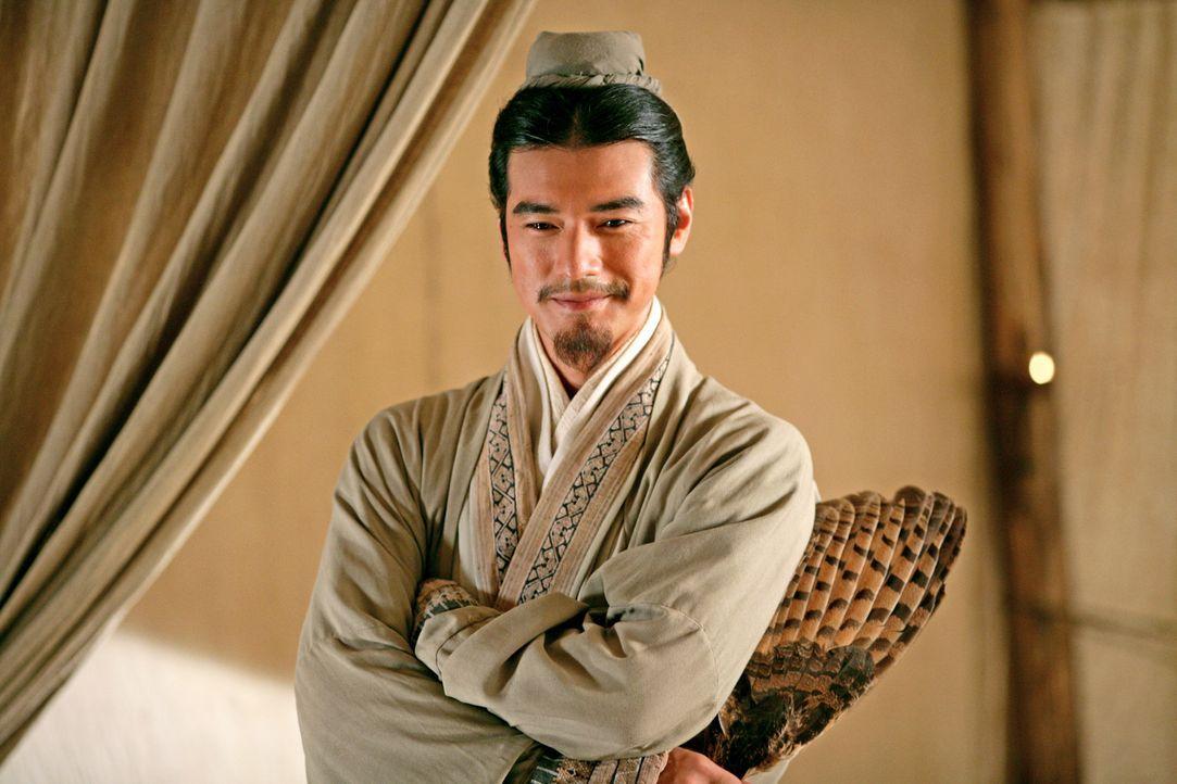Im Palast des südlichen Königreichs versucht Zhuge Liang (Takeshi Kaneshiro) König Sun Quan dazu zu überreden, sich mit König Shu gegen Kaiser... - Bildquelle: Constantin Film Verleih GmbH