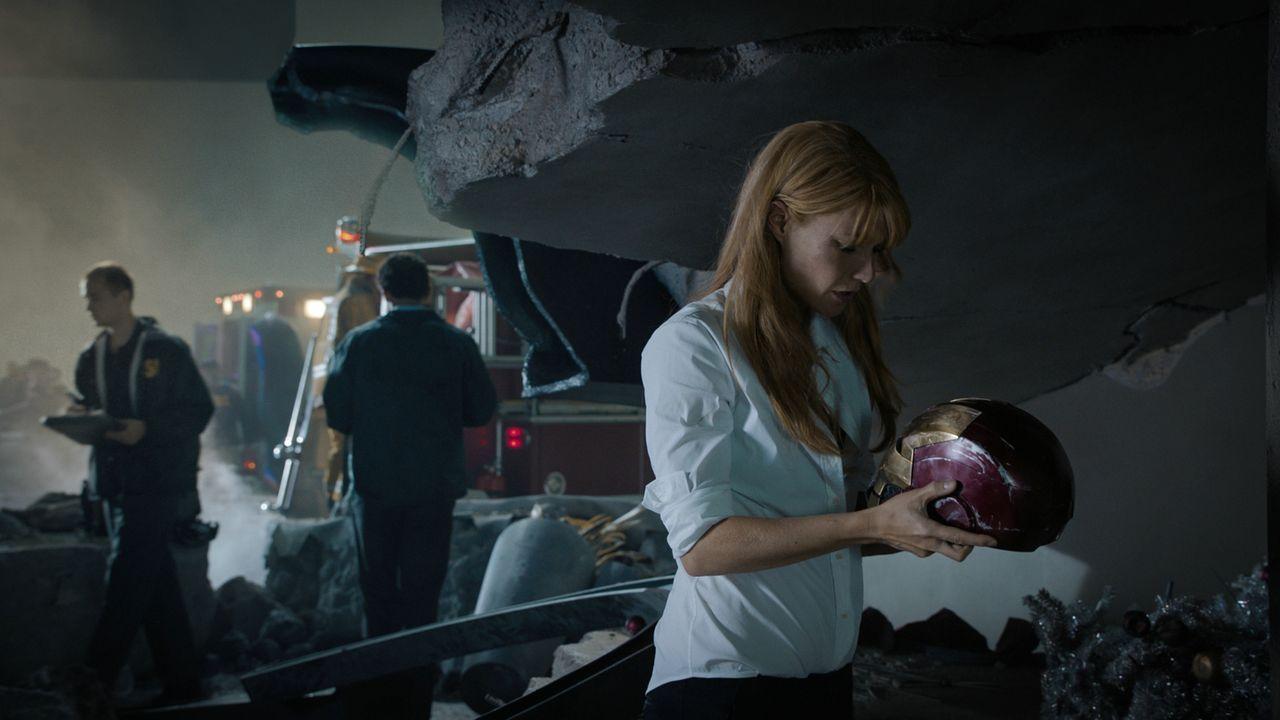 """Sie steht ihm treu zur Seite und wird nicht ruhen lassen, bis sie den plötzlich verschwundenen Tony wiederfindet: Virginia """"Pepper"""" Potts (Gwyneth P... - Bildquelle: TM &   2013 Marvel & Subs. All Rights Reserved."""