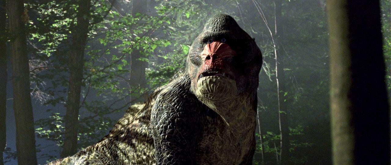 """Im Jahr 2055 gibt es nur noch im Zoo wilde Tiere. Deshalb bietet die Firma """"Time Safari Inc."""" individuelle Zeitreise-Jagdsafaris mit prähistorische... - Bildquelle: ApolloMedia"""