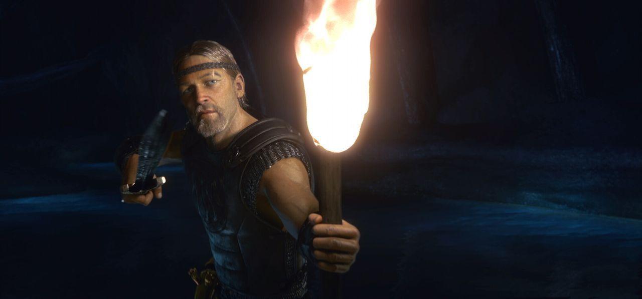 Als der erfahrene Krieger Beowulf (Ray Winstone) erfährt, dass ein blutrünstiges Monster das Königreich von König Hrothgar tyrannisiert, beschli... - Bildquelle: 2007 Warner Brothers International Television Distribution Inc.