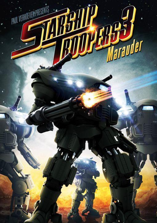 STARSHIP TROOPERS 3: MARAUDER - Plakatmotiv - Bildquelle: 2008 Star Troopers (Pty) Limited and ApolloMovie Beteiligungs GmbH. All Rights Reserved.
