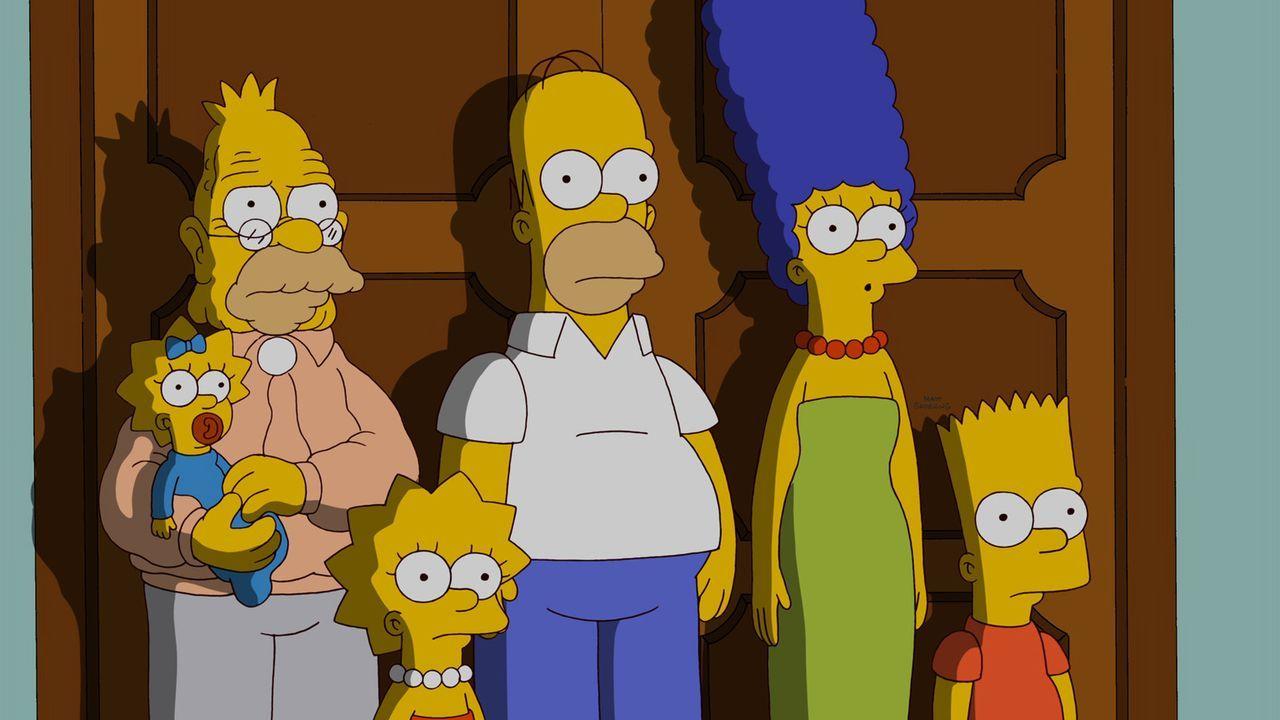 Eine Katastrophenschutzübung in Springfield wird ausgerufen. Als die Simpsons beschließen, den Bunker aus Langeweile zu verlassen, stellen sie fes... - Bildquelle: und TM Twentieth Century Fox Film Corporation - Alle Rechte vorbehalten
