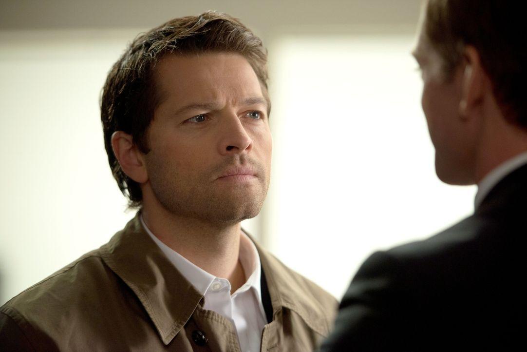 Castiel (Misha Collins) möchte endlich erfahren, was bei den Engeln vor sich geht. Doch es wird immer komplizierter ... - Bildquelle: 2013 Warner Brothers