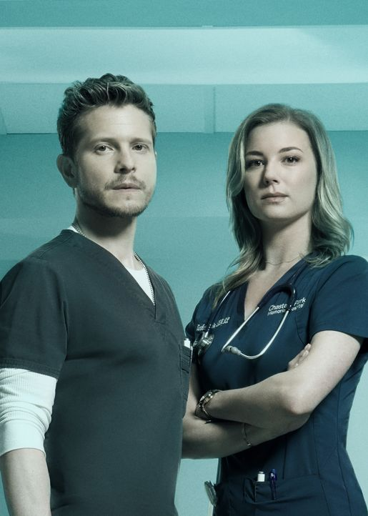 (3. Staffel) - Dr. Conrad Hawkins (Matt Czuchry, l.); Nicolette Nevin (Emily VanCamp, r.) - Bildquelle: 2019-2020 Twentieth Century Fox Film Corporation.  All rights reserved.