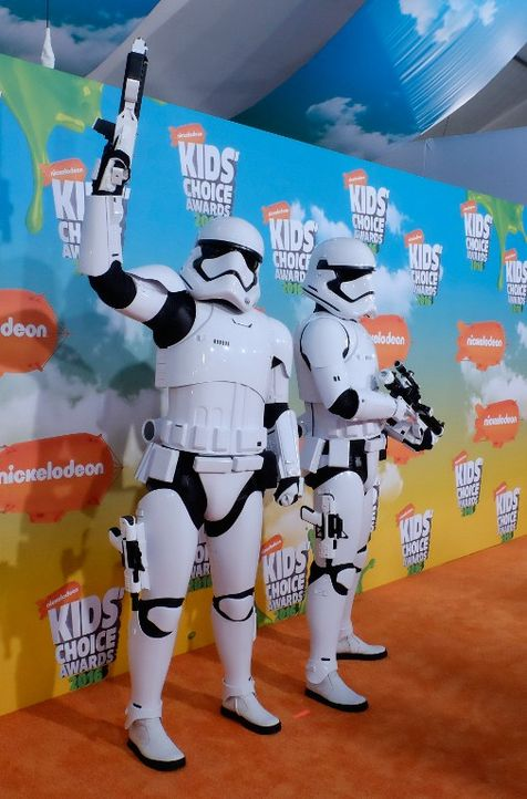 Nickelodeon-03-sturmtruppler-getty-AFP - Bildquelle: getty-AFP