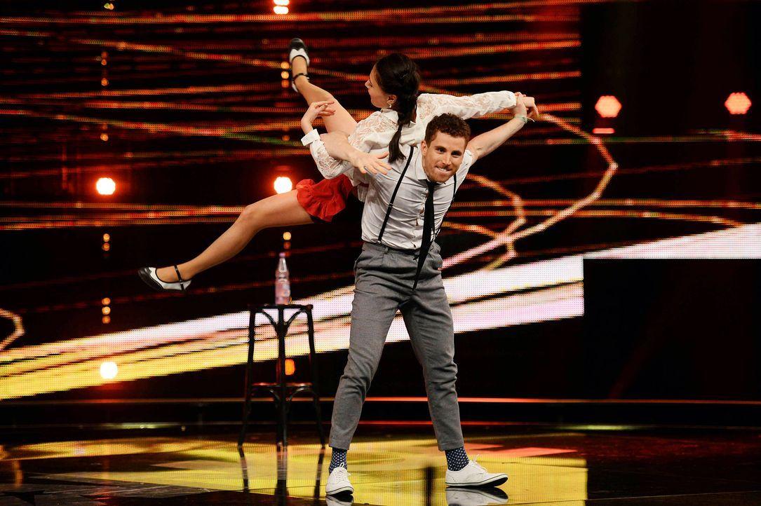 Got-To-Dance-Daniel-und-Claire-07-SAT1-ProSieben-Willi-Weber - Bildquelle: SAT.1/ProSieben/Willi Weber