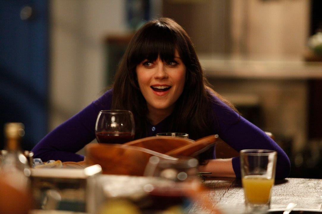Während Jess (Zooey Deschanel) auf Russells Tochter Sara aufpassen soll, hat Cece Angst, schwanger zu sein. Als Schmidt es erfährt, ist er ganz gerü... - Bildquelle: 20th Century Fox